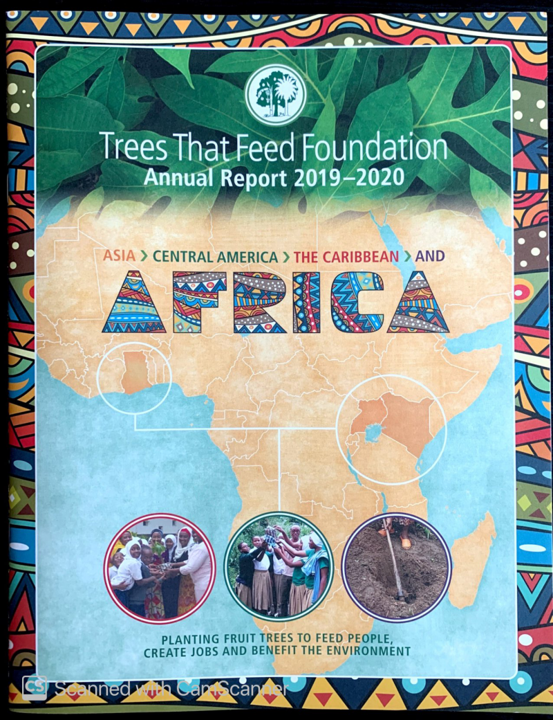 Trees That Feed the World, Brochure Cover