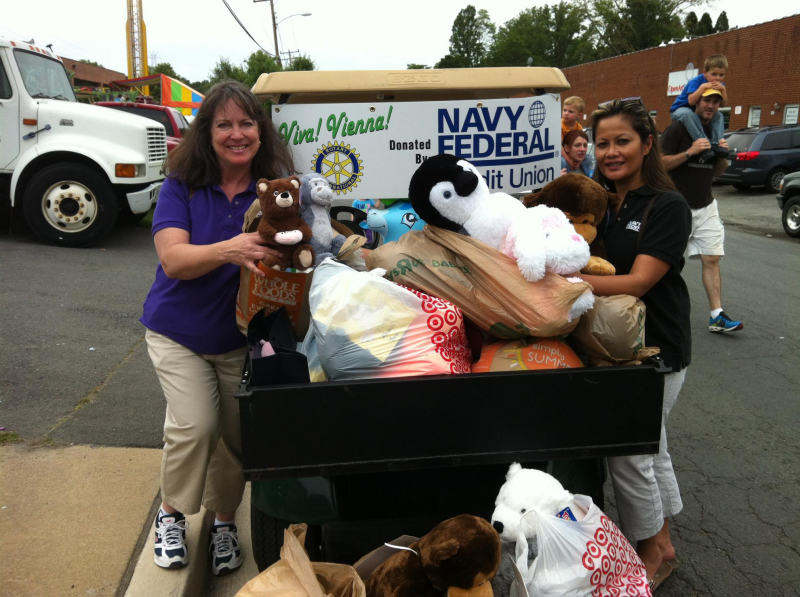 Navy Federal Collects Stuffed Animals